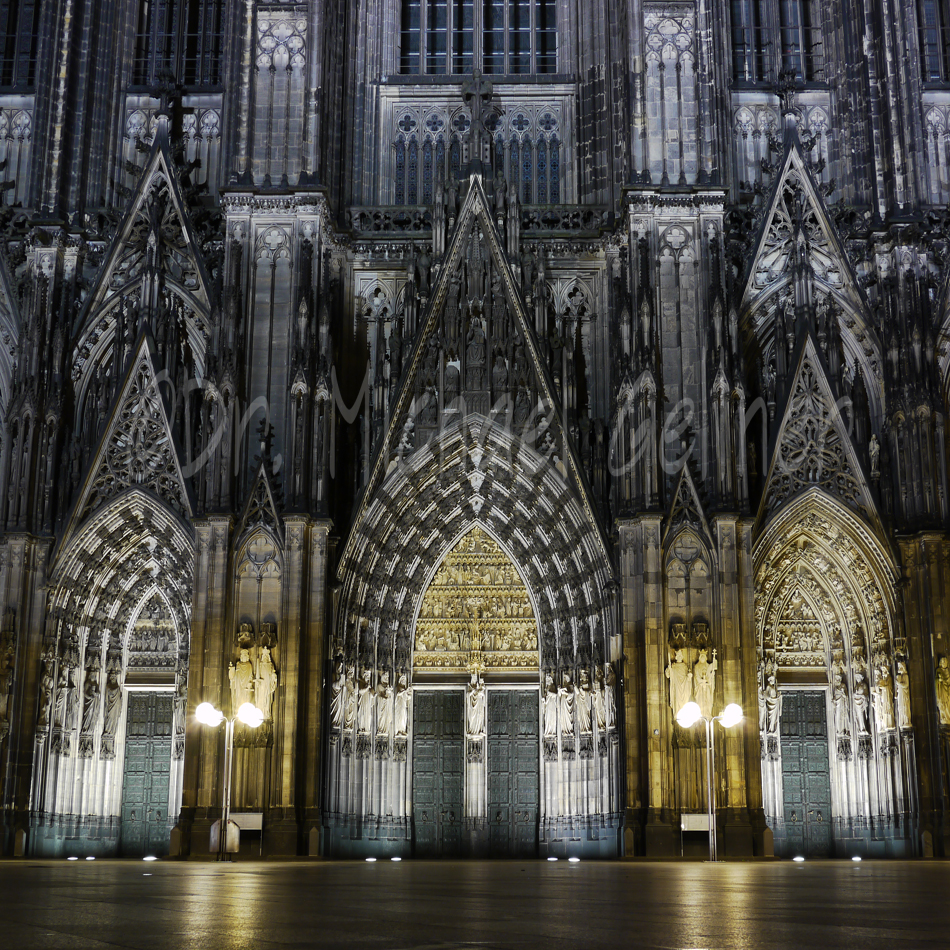 Cologne - Dome - Kölner Dom by Night