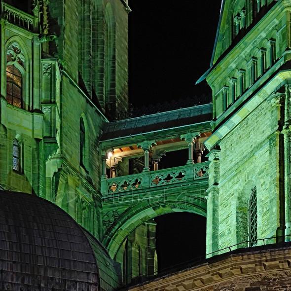 Brücke auf dem Aachener Dom