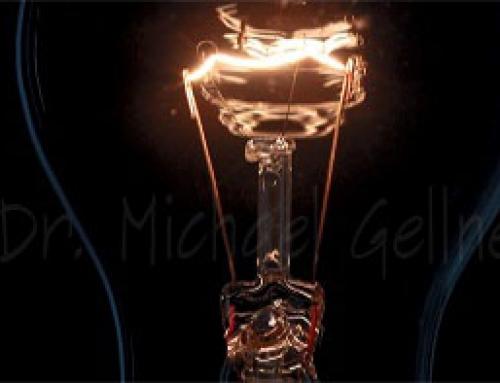 Lamp – medium – on and off