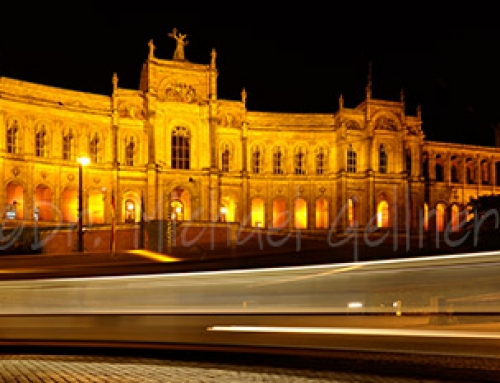 Munich – Maximilianeum at Night