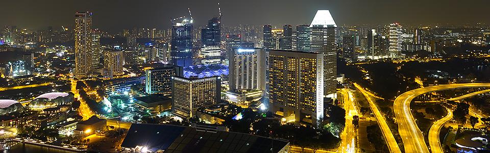 Singapur - Sky Crapers